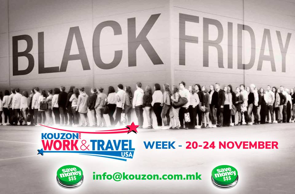 black friday week kouzon work travel america 2018 kouzon work and travel usa. Black Bedroom Furniture Sets. Home Design Ideas